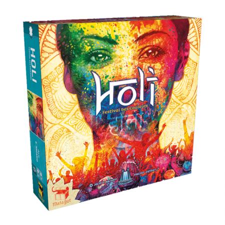 Holi : Festival des Couleurs - Box