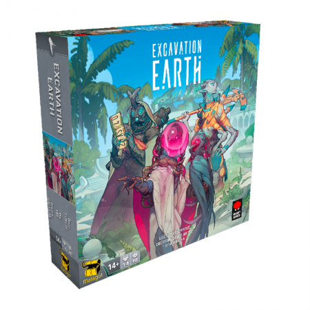Excavation Earth - Box