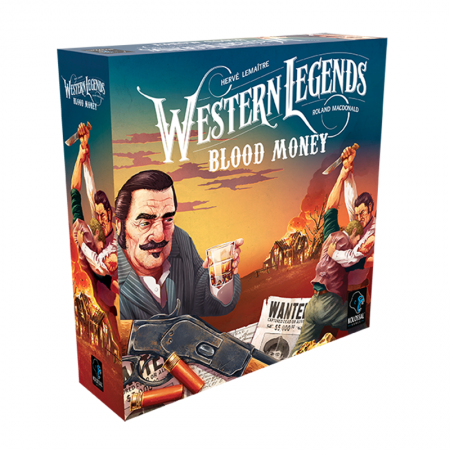 Western Legends - Blood Money - Box