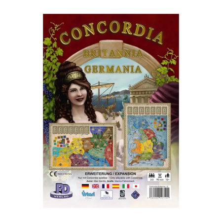 Concordia Britannia & Germania - Box