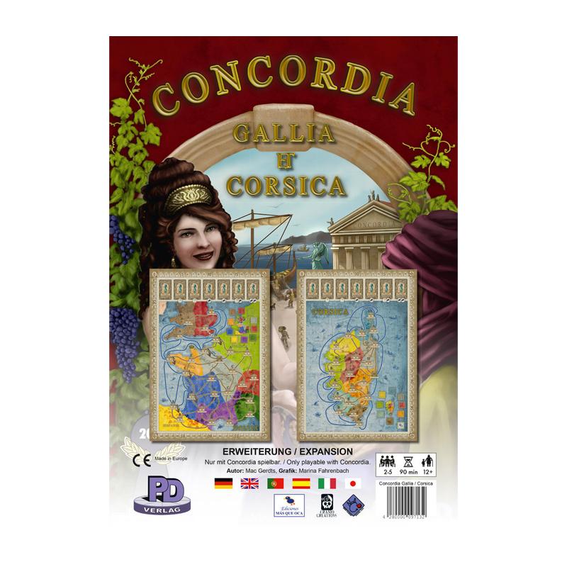Concordia Gallia and Corsica - Box