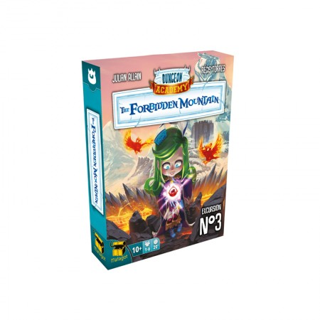 Dungeon Academy The Forbidden Mountain - Box