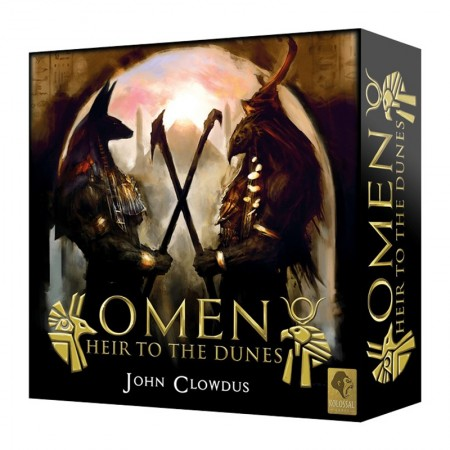 Omen: Heir to the Dunes - KS Edition - Box