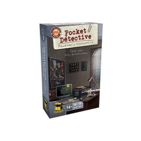 Pocket Detective : Meurtre à l'Université - Box