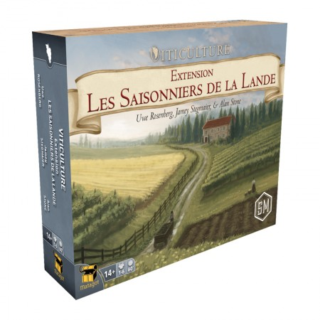 VITICULTURE : Les Saisonniers de la Lande - Ext.2 - Box