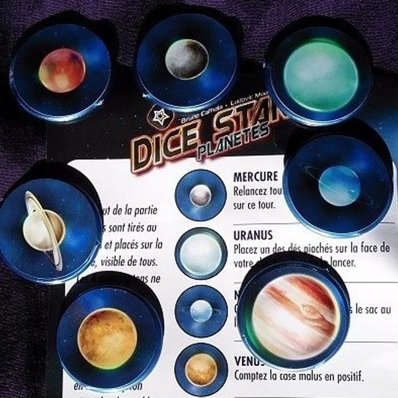 DICE STARS  - Goodie Planètes