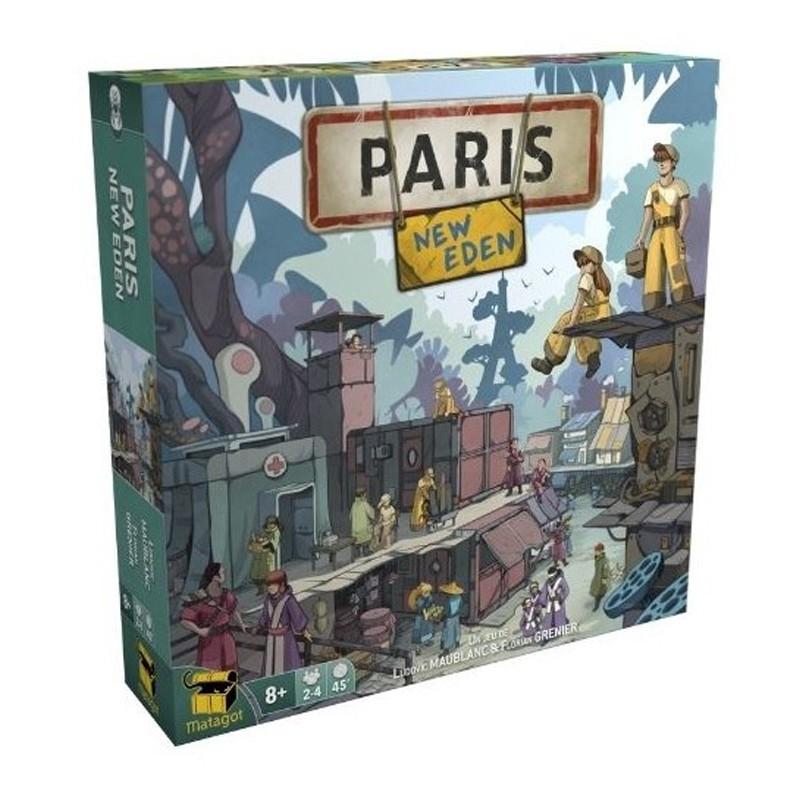 Paris : New Eden - Box