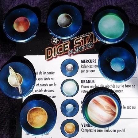 DICE STARS Goodie Planètes