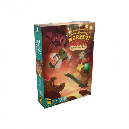 MEEPLE CIRCUS The Wild Animal and Aerial Show - Box