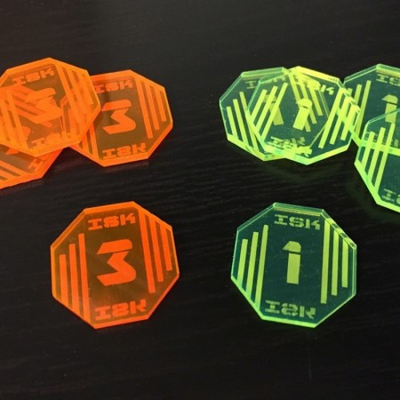 ISK - Tokens For Cup (30)