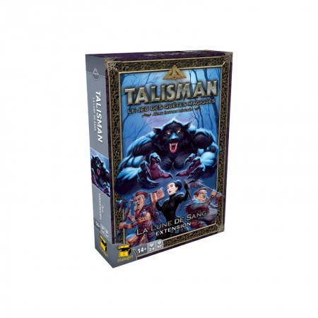 Talisman : La Lune de Sang - Cover Box