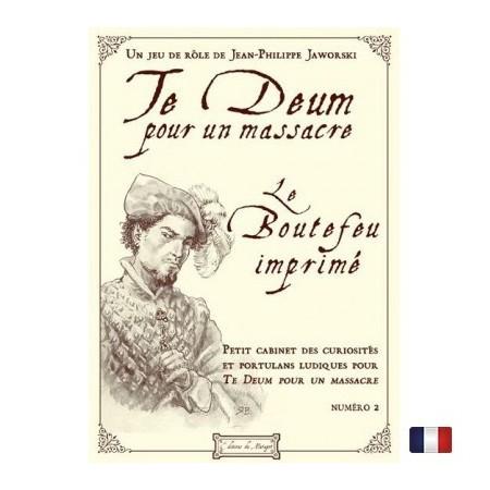 TE DEUM - Le boutefeu imprimé vol.2