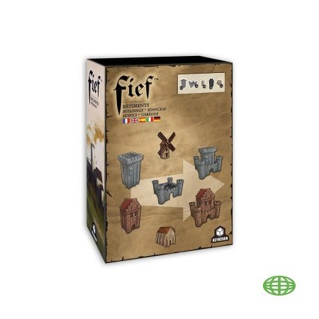 FIEF - extension miniatures bâtiments